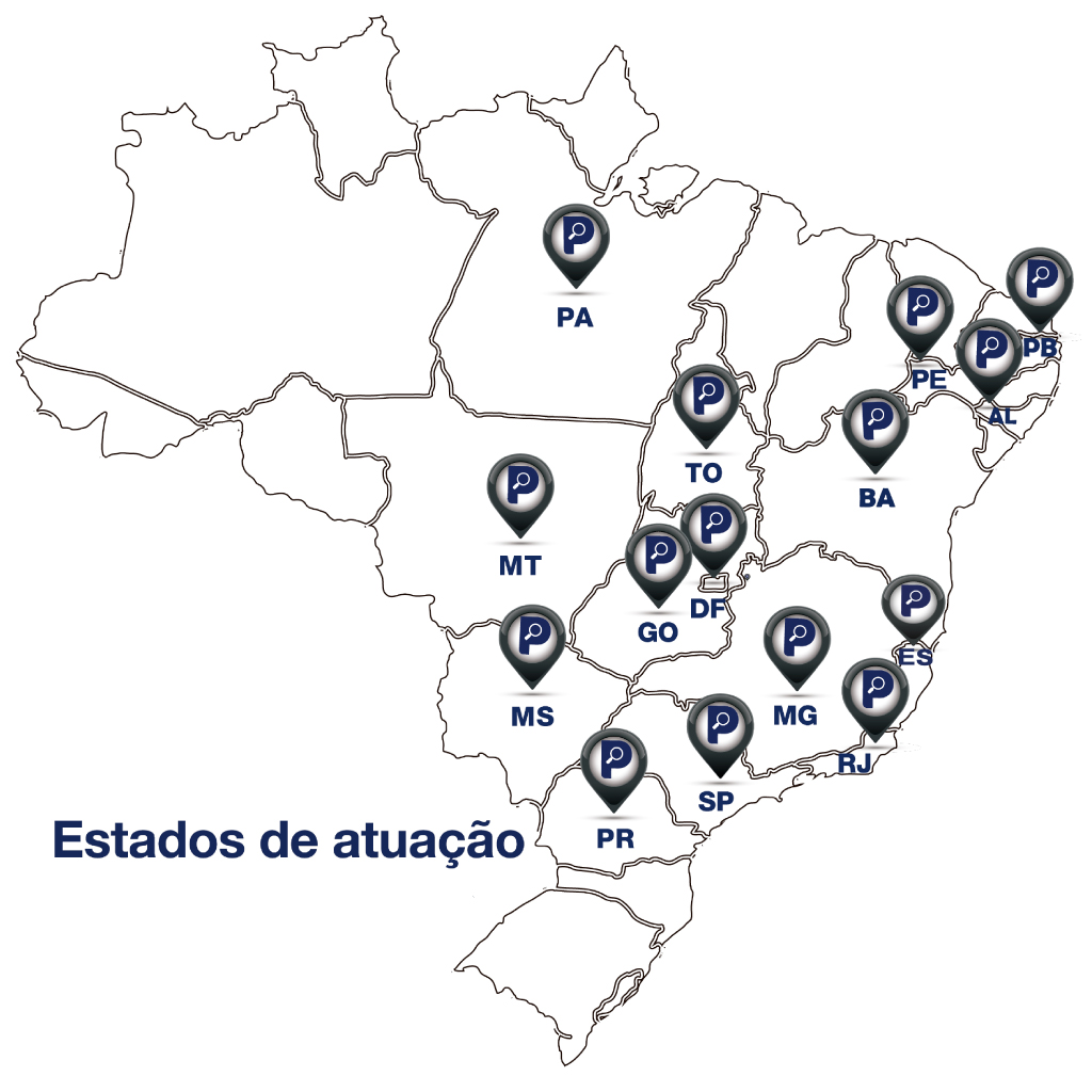 mapa - Departamento de Comercial/Marketing