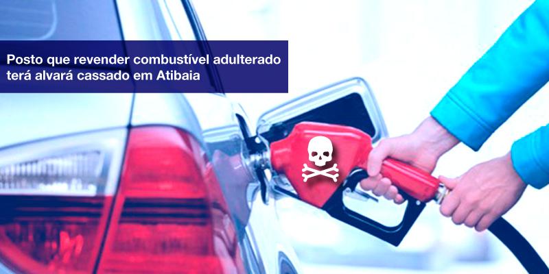 Posto Que Revender - Plumas - Posto que revender combustível adulterado terá alvará cassado em Atibaia