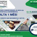 whatsapp - Falta 1 mês para a maior edição da ExpoPostos & Conveniência! Presença Confirmada da Plumas Contábil. Venha visitar nosso stand!