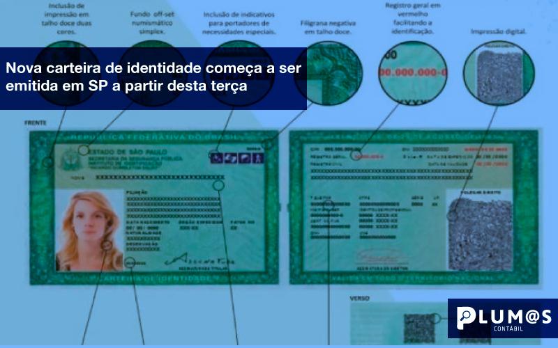 Nova-carteira-de-identidade-começa-a-ser-emitida-em-SP-a-partir-desta-terça - Nova carteira de identidade começa a ser emitida em SP a partir desta terça
