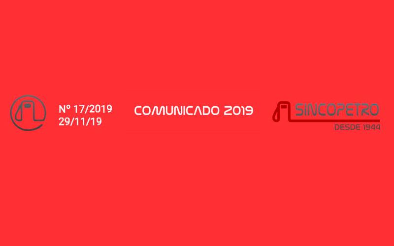 Comun-Sincopetro-17-19-(1) - POSTOS SÃO NOTIFICADOS PELA RECEITA FEDERAL PELA FALTA DE RECOLHIMENTO DE CONTRIBUIÇÃO PREVIDENCIÁRIA