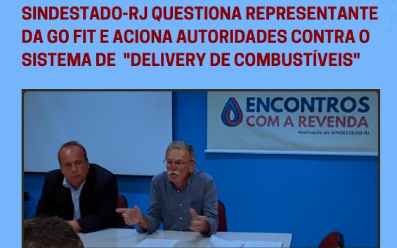"""para-site - SINDESTADO-RJ aciona autoridades contra o sistema de """"delivery de combustíveis"""""""