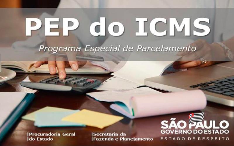 parcelamento- - Governo paulista institui Programa de Parcelamento Especial de ICMS – PEP