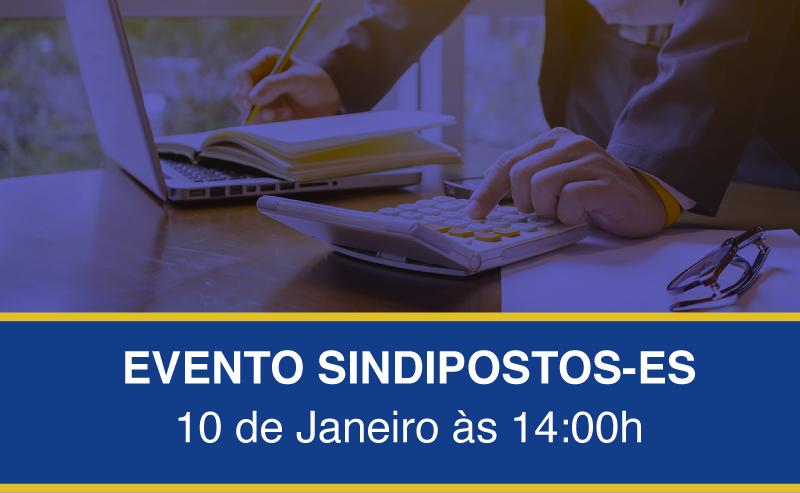 mini - Evento Sindipostos-ES dia 10 de Janeiro às 14:00h com palestra da Plumas Contábil