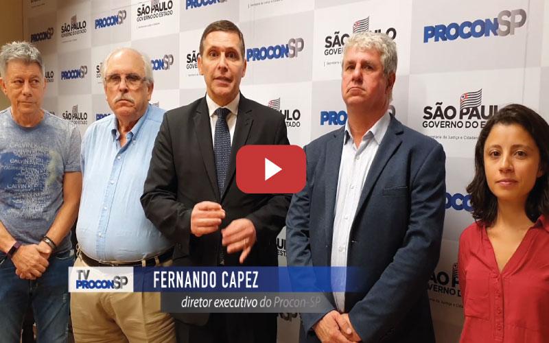 2-certo - PROCON – Reunião realizada hoje entre a Fundação Procon e as entidades patronais que representam os Postos de Combustíveis no Estado de São Paulo SINCOPETRO, RESAN, REGRAN E RECAP.