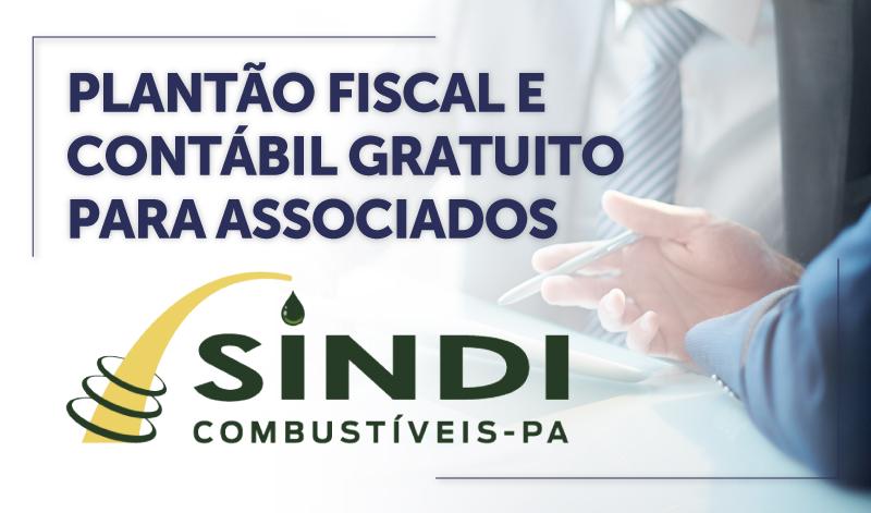 CABECA_PA - PLANTÃO FISCAL E CONTÁBIL GRATUITO PARA ASSOCIADOS DO SINDICOMBUSTIVEIS/PA