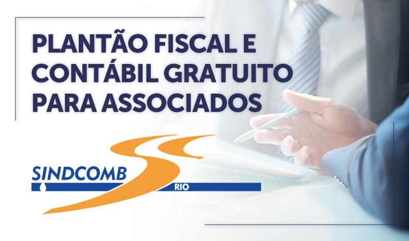 CABECA_RIO2 - PLANTÃO FISCAL E CONTÁBIL GRATUITO PARA ASSOCIADOS DO SINDCOMB/RJ