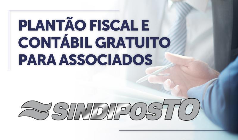CABECA_TO - PLANTÃO FISCAL E CONTÁBIL GRATUITO PARA ASSOCIADOS DO SINDIPOSTO/TO