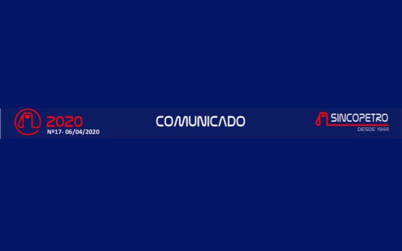 SINCOPETRO - Ref.: CONVENÇÃO COLETIVA DE TRABALHO EMERGENCIAL DECORRENTE DO CORONAVÍRUS – COVID-19 – ESTADO DE SÃO PAULO.