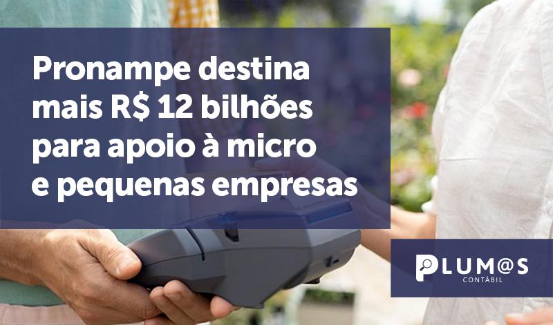 banner 2 Pronampe destina - Pronampe destina mais R$ 12 bilhões para apoio à micro e pequenas empresas