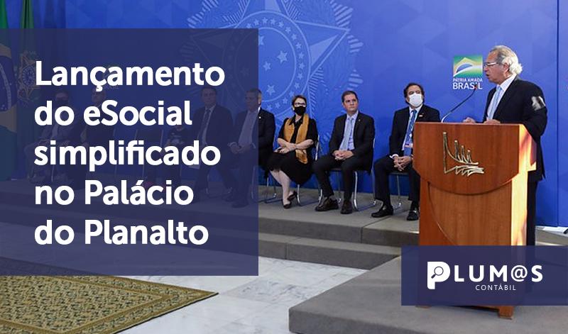 banner 10 Lançamento do eSocial - Lançamento do eSocial simplificado no Palácio do Planalto