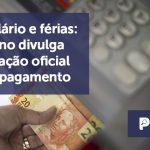 banner 8 13º salário e férias - 13º salário e férias: Governo divulga orientação oficial sobre pagamento
