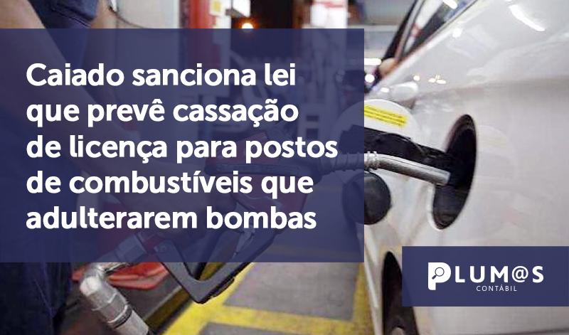 banner1 Governo de Goiás sanciona - Caiado sanciona lei que prevê cassação de licença para postos de combustíveis que adulterarem bombas