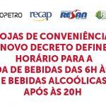 banner 3 FASE LARANJA-SP - NOVO DECRETO DEFINE HORÁRIO PARA VENDAS DE BEBIDAS EM LOJAS DE CONVENIÊNCIA (Sincopetro)