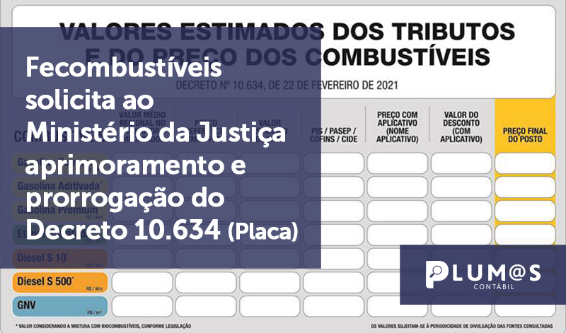 banner 09 Fecombustíveis 2 2 - Fecombustíveis solicita ao Ministério da Justiça aprimoramento e prorrogação do Decreto 10.634