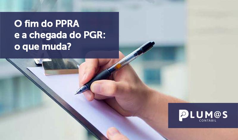 banner 14 PPRA_ - O fim do PPRA e a chegada do PGR: o que muda?