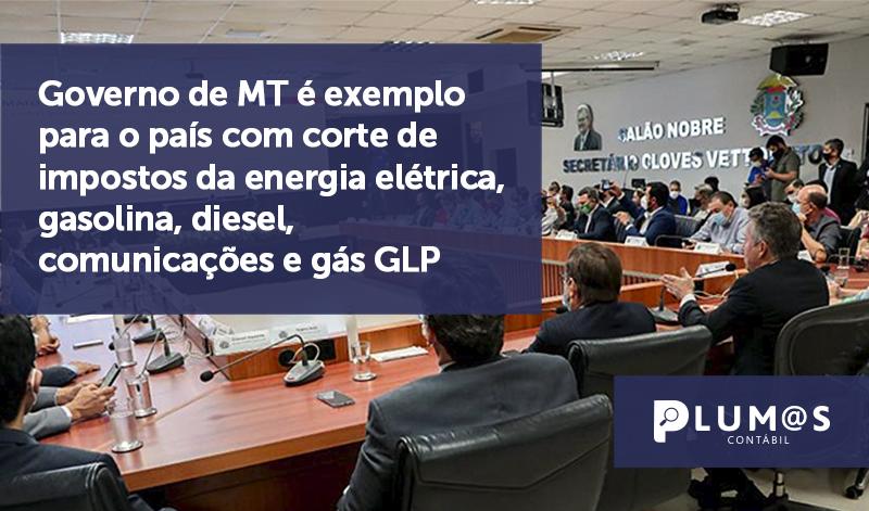 banner 03 Governo de MT - Governo de MT é exemplo para o país com corte de impostos da energia elétrica, gasolina, diesel, comunicações e gás GLP