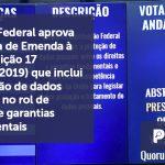 banner 13 LGPD 2 - Senado Federal aprova Proposta de Emenda à Constituição 17 (PEC 17/2019) que inclui a proteção de dados pessoais no rol de direitos e garantias fundamentais